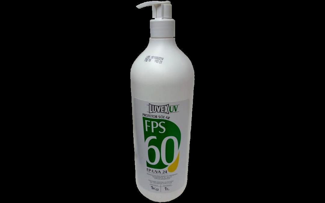 PROTECTOR SOLAR LUVEX UV FPS 60