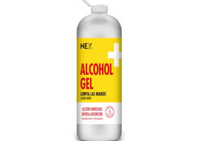 ALCOHOL EN GEL 1100ml C/TAPA