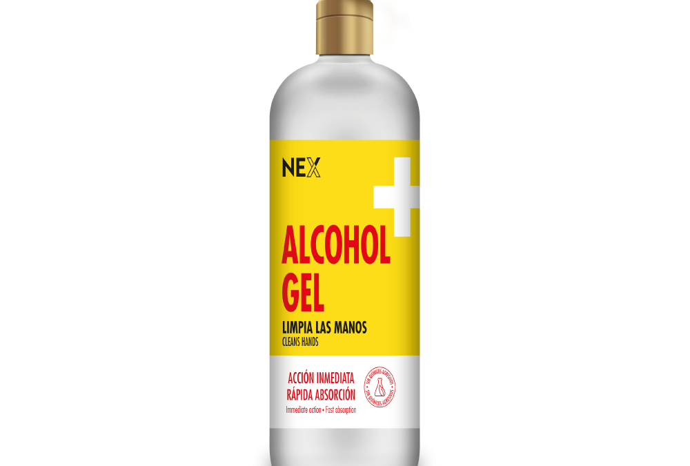 ALCOHOL EN GEL NEX 1100ml