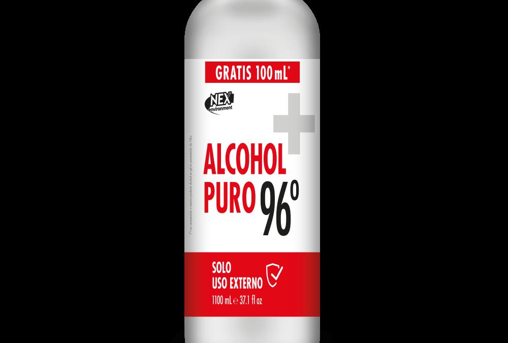 ALCOHOL PURO 96° 1100ml