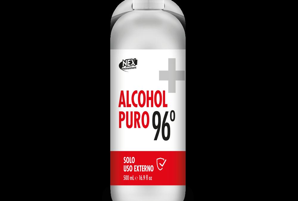 ALCOHOL PURO 96° 500ml