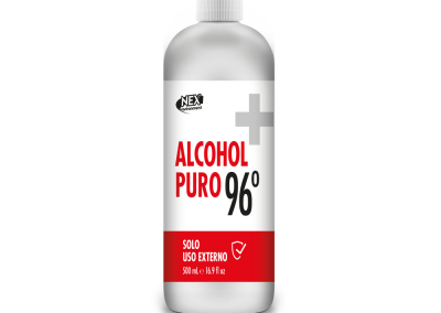 ALCOHOL PURO 96° 500ml