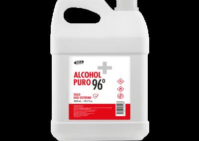 ALCOHOL PURO 96° GALONERA